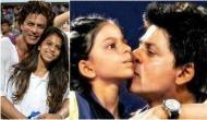 Zero actor SRK's daughter Suhana Khan trolled for kissing her father; Netizens advised her, 'sharm karo baap hai tera'