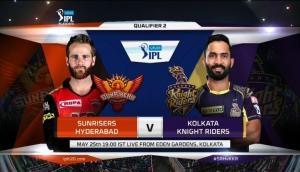 IPL 11: सनराइजर्स हैदराबाद और कोलकाता नाइटराइडर्स के बीच होगा फाइनल में पहुंचने के लिए महामुकाबला