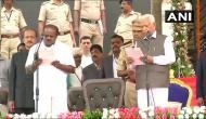 कर्नाटक: कुमारस्वामी ने ली सीएम पद की शपथ, 2019 में मोदी को हराने के लिए एकजुट हुआ विपक्ष