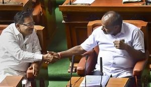 Cong-JD(S) prove naysayers wrong for now. Kumaraswamy passes floor test