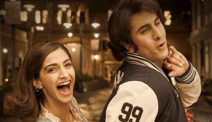 Sanju: Finally after 10 years Ranbir Kapoor and Sonam Kapoor came together on silver screen for Rajkumar Hirani's film, see poster