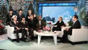 Korean pop-band gets hilariously scared in prank on 'The Ellen DeGeneres' show