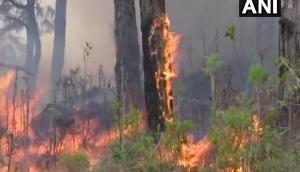 California wildfire shuts down major interstate highway