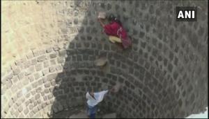Rajasthan Water Shortage: People locking down water drums to stop water theft