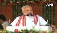 PM मोदी ने पेश किया 4 साल का रिपोर्ट कार्ड, कहा- देश में कमिटमेंट वाली सरकार