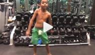 Video: अजय देवगन के बेटे ने एक्सेप्ट किया फिटनेस चैलेंज, किया ये कारनामा
