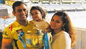 Ziva Dhoni gives a glimpse of Dhoni's newfound love; Sakshi shares video