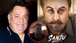 Video: 'संजू' के ट्रेलर को देखने के बाद ऋषि कपूर बेटे रणबीर को नहीं पहचान पाए