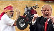 कैसे एक मोटरसाइकिल ने ट्रम्प के सामने PM मोदी को डाल दिया धर्मसंकट में ?