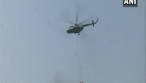Mi-17 helicopter deployed to contain Delhi's Malviya Nagar fire