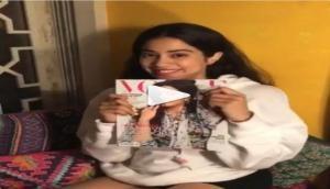 श्रीदेवी की बेटी जाह्नवी कपूर ने मैगजीन के लिए कराया पहला हॉट फोटोशूट, देखिए तस्वीरें