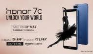 Honor 7C की बंपर सेल, खरीदने पर मिलेगा 2,000 रुपये का कैशबैक