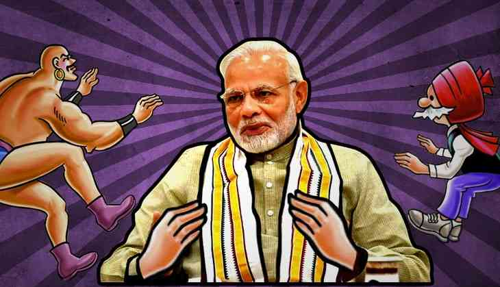 Why Modi's adventures with Chacha Chaudhary should not come as a surprise