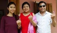 उपचुनाव: मेघालय में कांग्रेस बनी सबसे बड़ी पार्टी, संगमा की बेटी मियानी डी शिरा जीती