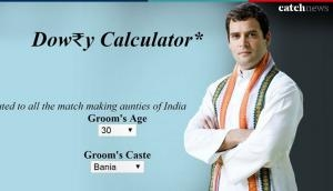 Rahul Gandhi will get this amount in dowry as per this website highlighted by Jyotiraditya Scindia; check yours