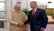 Singapore: Talks between PM Modi and Lee begin