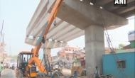 Cracks on flyover in Thane; closed for vehicular traffic