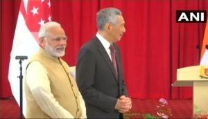 मोदी का सिंगापुर दौरा: BHIM, RuPay और UPI लॉन्च, 14 समझौतों पर हस्ताक्षर