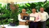 Singapore names orchid after PM Modi