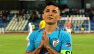 सुनील छेत्री की अपील- हमें गालियां दो, आलोचना करो लेकिन भारतीय फुटबॉल टीम का मैच देखने आओ