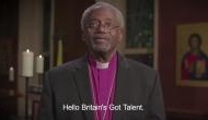 Michael Curry, the US bishop who stold the show at Prince Harry and Meghan Markle's royal wedding gave a special blessing on the Britain's Got Talent