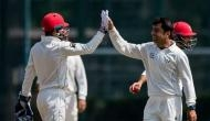 Youngest Test captain Rashid Khan's all-round show puts Afghanistan on top
