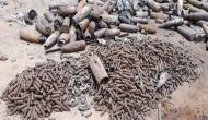 Military Intelligence found 400 live bombs from scrap dealer at Jaisalmer, Rajasthan