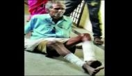 Bengaluru: Shocking! 70-year-old patient forced to crawl out of the government hospital; staff did not offer wheelchair assistance