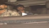 Video: आलिया के साथ कार में स्पॉट हुए रणबीर, मीडिया से बचते आए नजर