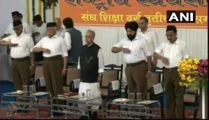 Pranab flummoxes all at RSS headquarters: Praises Hedgewar, stresses on secularism