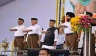 A morphed picture of former President Pranab Mukherjee saluting in RSS-style annoys daughter; calls it BJP's dirty trick