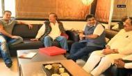 Sampark for Samarthan: Nitin Gadkari meets Salim Khan