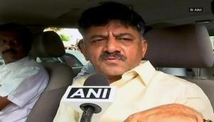 Karnataka Crisis: DK Shivakumar meets rebel Congress MLA Nagaraj in Bengaluru, asks to reconsider resignation