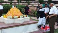 प्रणब मुखर्जी ने हेडगेवार के कुलदेवता पर जूते पहनकर चढ़ाए फूल, भागवत ने कही यह बात