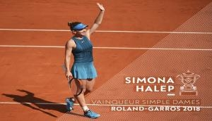 Tennis stars hail Simona Halep's maiden Grand Slam victory on twitter, here are the best reactions
