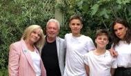 Amid bizarre divorce rumours, Victoria Beckham posts family snap on Instagram