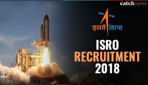 ISRO Recruitment 2018: Master degree holders can apply for the vacancies announced by the Indian Space Research Organisation