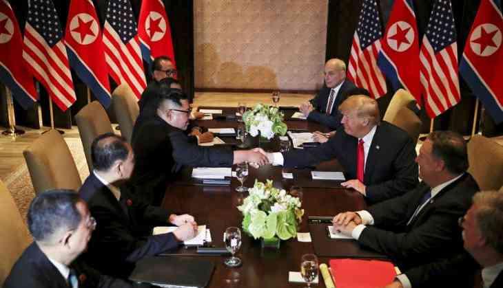 Trump, North Korea's Kim Jong Un sign unspecified document