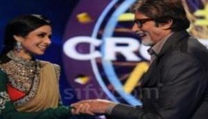 अमिताभ बच्चन के शो 'KBC' में पूछा गया श्रीदेवी से जुड़ा ये सवाल