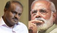 PM मोदी के फिटनेस चैलेंज पर कुमारस्वामी का जवाब- कर्नाटक की सेहत सुधार दीजिए सर