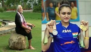 PM मोदी के फिटनेस चैलेंज पर मनिका बत्रा ने दिया ये जवाब...