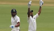 Ind vs Afg ऐतिहासिक टेस्टः टी ब्रेक से पहले धवन 107 रन बनाकर आउट, विजय शतक के करीब