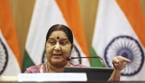 Sushma Swaraj meets Bahrain PM