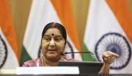 External Affairs Minister Sushma Swaraj condoles former Pakistan PM Nawaz Sharif's wife Kulsoom Nawaz's demise