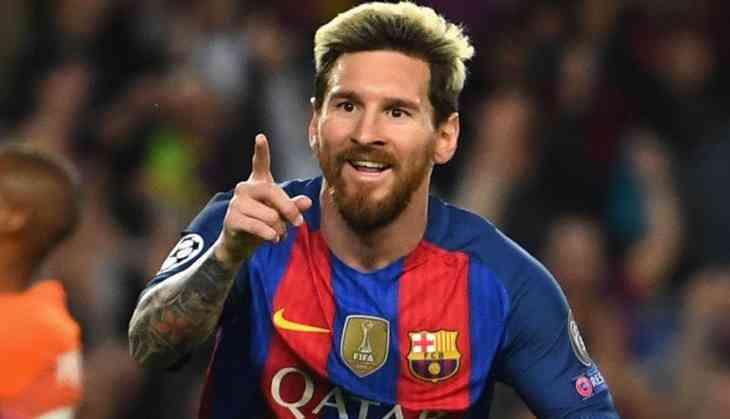 Lionel Messi hat-trick restores Barcelona's La Liga lead