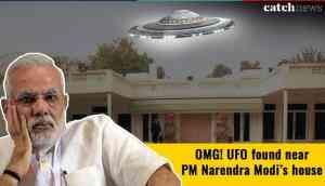OMG! UFO found near PM Narendra Modi's house; here's how Tweeple reacted
