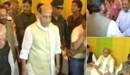 Rajnath attend Eid celebration at Naqvi's residence
