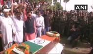 शहीद औरंगजेब को सैन्य सम्मान के साथ किया गया सुपुर्द-ए-खाक, खून के बदले खून के लगे नारे