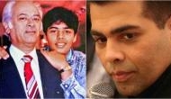 Father's Day: Karan Johar's speech about a father-son relationship just after his father Yash Johar's death will make you teary eyes, see video