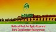NABARD: बैंक में स्पेशलिस्ट ऑफिसर, क्रेडिट ऑफिसर के पदों पर नौकरी का मौका